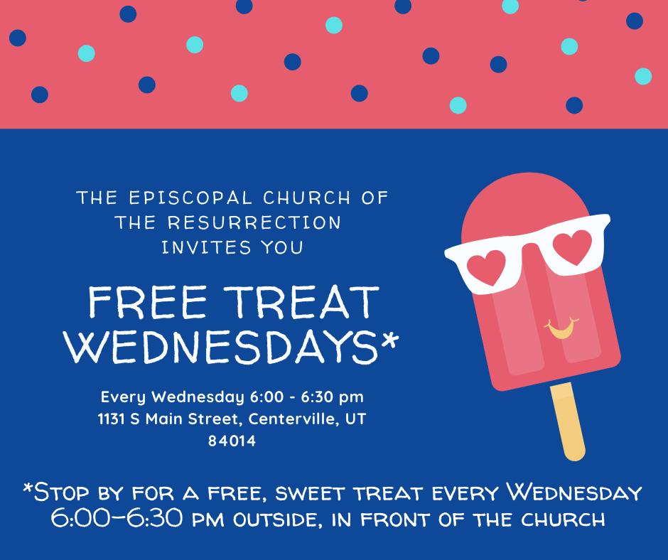 Free treat Wednesdays